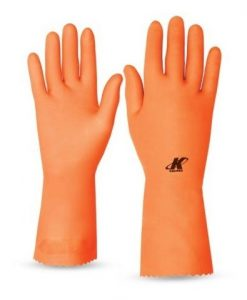 LUVA KALIPSO LATEX ORANGE T 11GG _C.A 32499