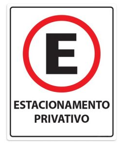 IMG_1958_PLACA ESTACIONAMENTO PRIVATIVO REF P-3