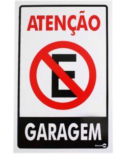 IMG_1959_PLACA ATENÇÃO GARAGEM REF P-4
