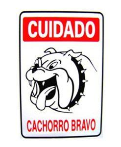 IMG_1961_PLACA CUIDADO CACHORRO BRAVO REF P-6