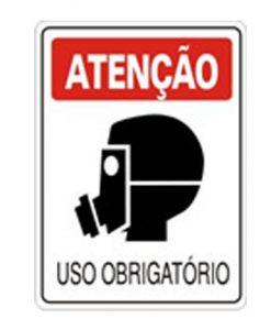 IMG_1974_PLACA USO OBRIGATORIO MASCARA REF S-201
