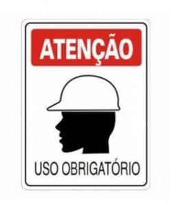 IMG_1978_PLACA USO OBRIGATORIO CAPACETE REF S-205