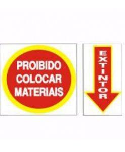 IMG_1983_PLACA PROIB COLOCAR MATERIAIS + EXTINTOR REF S-210
