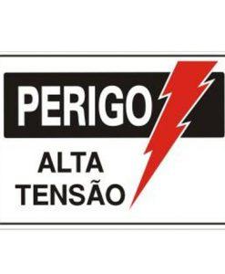 IMG_1989_PLACA PERIGO ALTA TENSÃO REF S-217