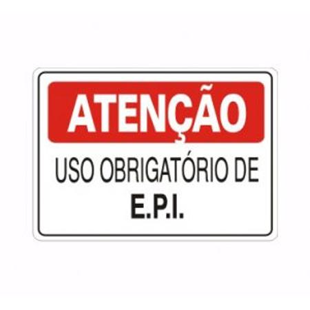 IMG_1993_PLACA ATENÇAO USO OBRIGATORIO DE EPI REF S-227.1
